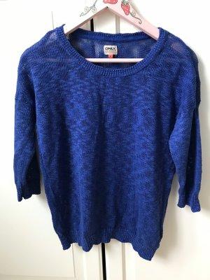 Pullover Pulli Only Gr M blau