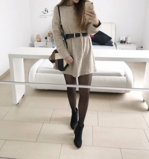 Pullover Pulli oversize Kleid Tunika blogger musthave M