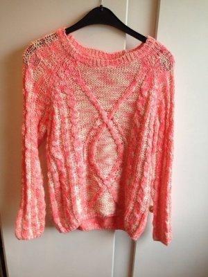Pullover / Pulli, Strick, pink, beige /nude, NEU! Bershka