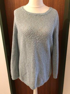 Bonita Knitted Sweater pale blue-sage green