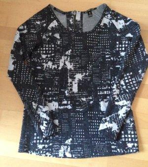 Pullover Pulli von Maison Scotch anthrazit Nieten Kunstleder