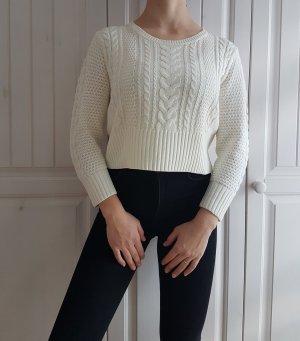 H&M Cable Sweater multicolored