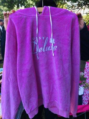 Pussy Deluxe Maglione con cappuccio rosa-rosa