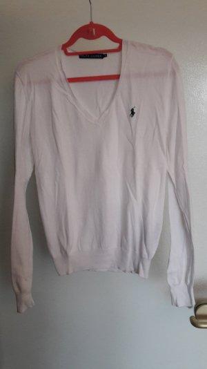 Pullover Ralph Lauren Polo Gr. XL weiß