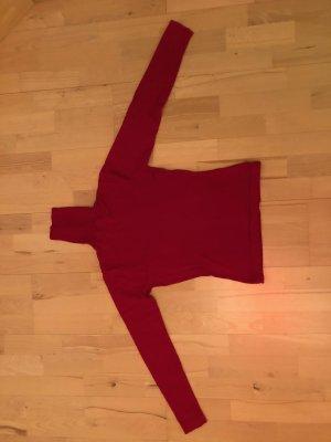 Pullover Rollkragen Rolkragenpullover Gr. 34 XS rot