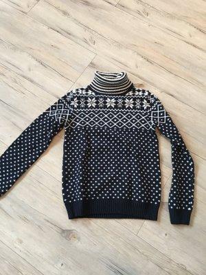 Pullover / Rollkragenpullover dunkelblau