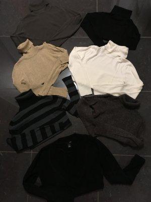 Pullover Rollkragenpullover Shirt Top Gr. S 36