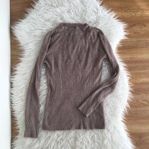 Pullover Rollkragenshirt Primark, Größe 40 M 38 Nude Beige Taupe