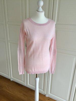 Asos Jersey de cuello redondo rosa-gris