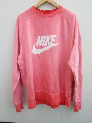 Nike Pull oversize rouge framboise