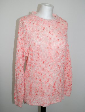 Pullover Rosa/Pink/Lachsfarben, Farbmuster, Gr. XS