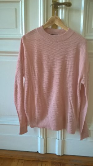 Pullover Rosa Strukturiert