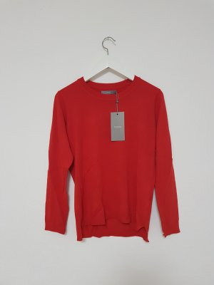B.young Sweater red-brick red