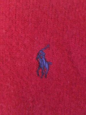 Polo Ralph Lauren Wool Sweater carmine-steel blue