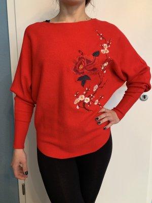 Pullover rot Größe S/M