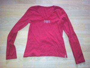 Pullover rot Sankt Moritz Mangoon Gr. S