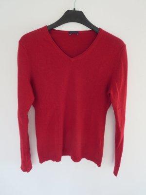 Pullover rot Seide/Kaschmir