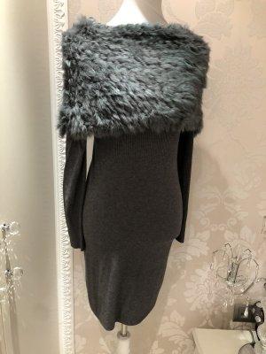 Pullover S/M mit Echtfellbesatz abnehmbar neuwertig