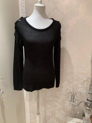 Pullover schwarz gr L
