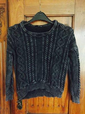 Pullover schwarz grau Tally Weijl