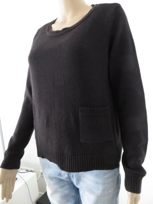 H&M Sweater black polyacrylic