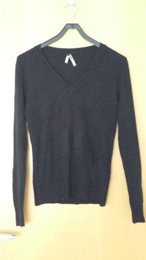 Pullover schwarz kuschelig