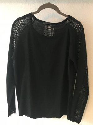 Pullover schwarz Minus Gr. M