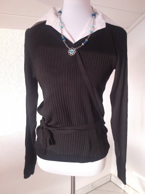 Blue Motion Sweater white-black