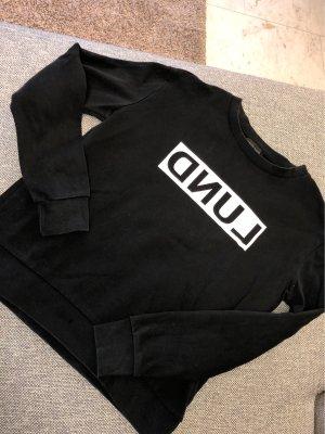 Pullover Schwarz mit Logo