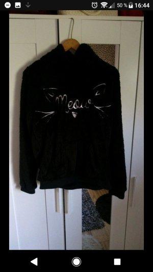 Pullover schwarz pflauschig