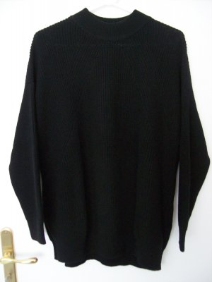 H&M Divided Grof gebreide trui zwart