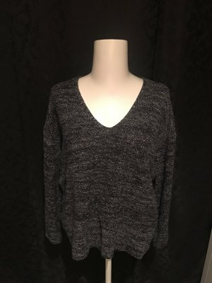 Pullover schwarz-weiß