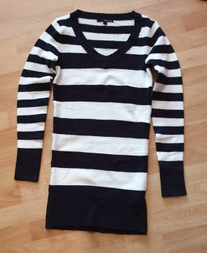 Sweater Twin Set white-black