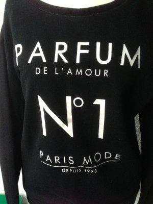 Pullover schwarz-weiss chic und lässig H&M Gr. XS/34