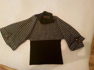 Pullover schwarz weiss von Pieszak grösse 36 - 38 Winterpullover