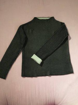 Pullover Schwarz Weiß von Zara