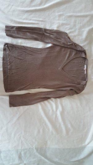Tally Weijl Pull gris brun