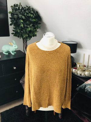 H&M Oversized trui zandig bruin-goud Oranje