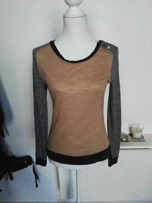 Pullover/Shirt mit Knopfdetail von Mango Basics