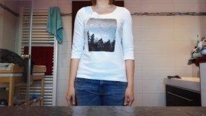 s.Oliver Print Shirt white