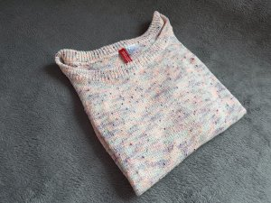 H&M Short Sleeve Sweater multicolored