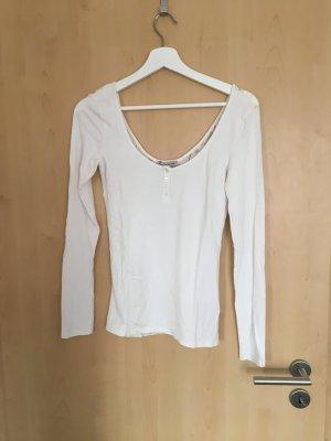 Pullover Spitze weiß Bershka