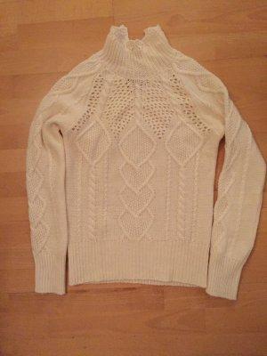 Pullover Stefanel, Größe S, wollweiß