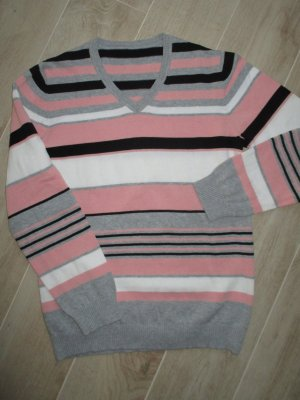 Adler V-Neck Sweater multicolored cotton
