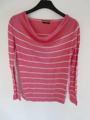 Pullover Streifen Seide/Baumwolle