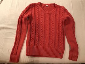 Pullover Strick mit Zopfmuster 36 S
