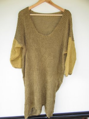 Vintage Pull en crochet multicolore