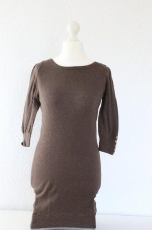 Pullover/Strickkleid in beige