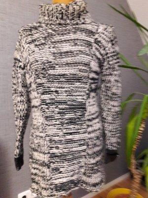 Maglione bianco-nero