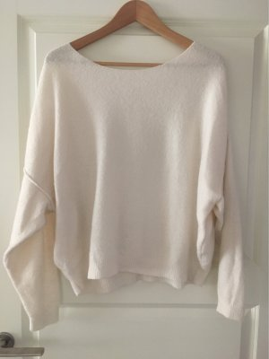 American Vintage Knitted Sweater natural white